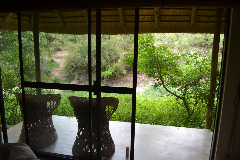 Personal porch on our cabins,; perfect for relaxing