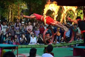 "Mini Circus at the ""Cultural Village"""