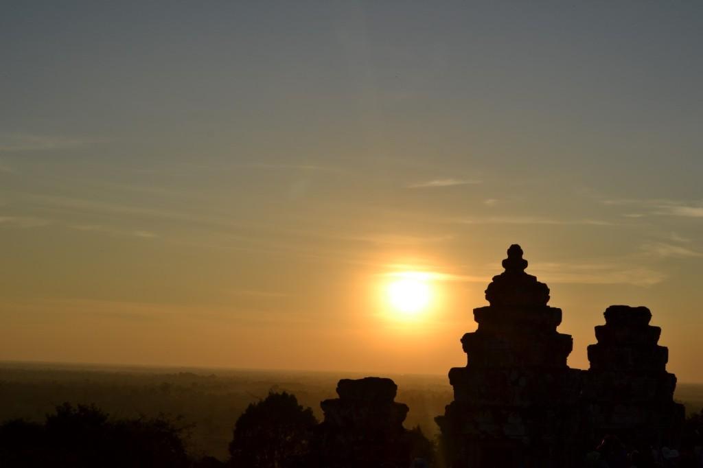 Sunset over Angkor