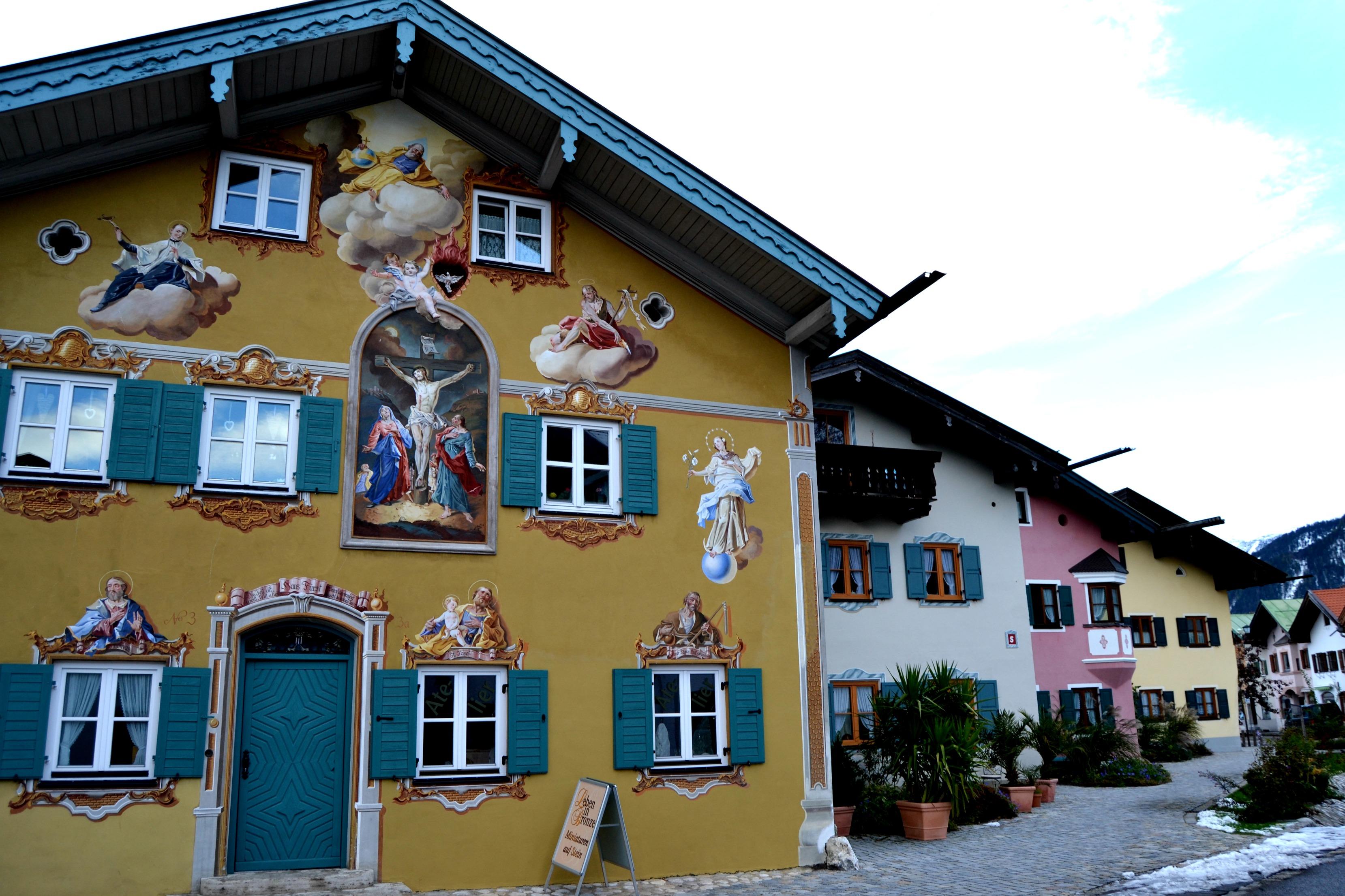 Garmisch cobblestoned streets