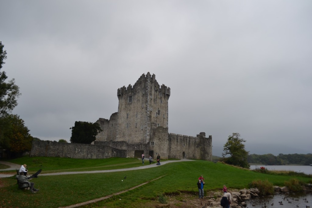 Cahir Castle during our 1 week trip to ireland