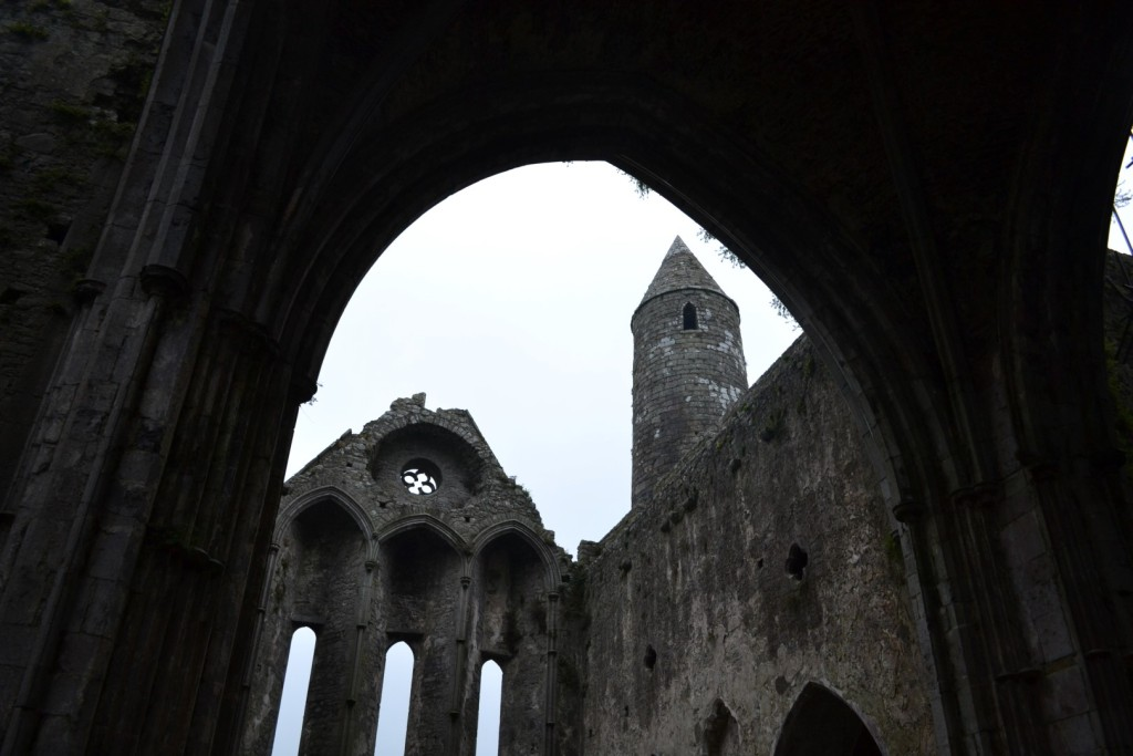 Church of Cashel Rock stop during ireland in a week
