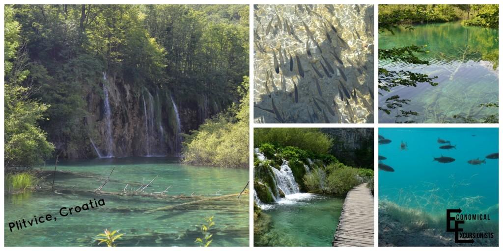 Plitvice's beautiful waters