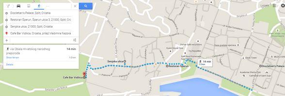 Marjam Hill Walking Directions