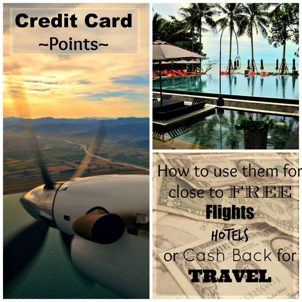 How to use credit card points for free travel