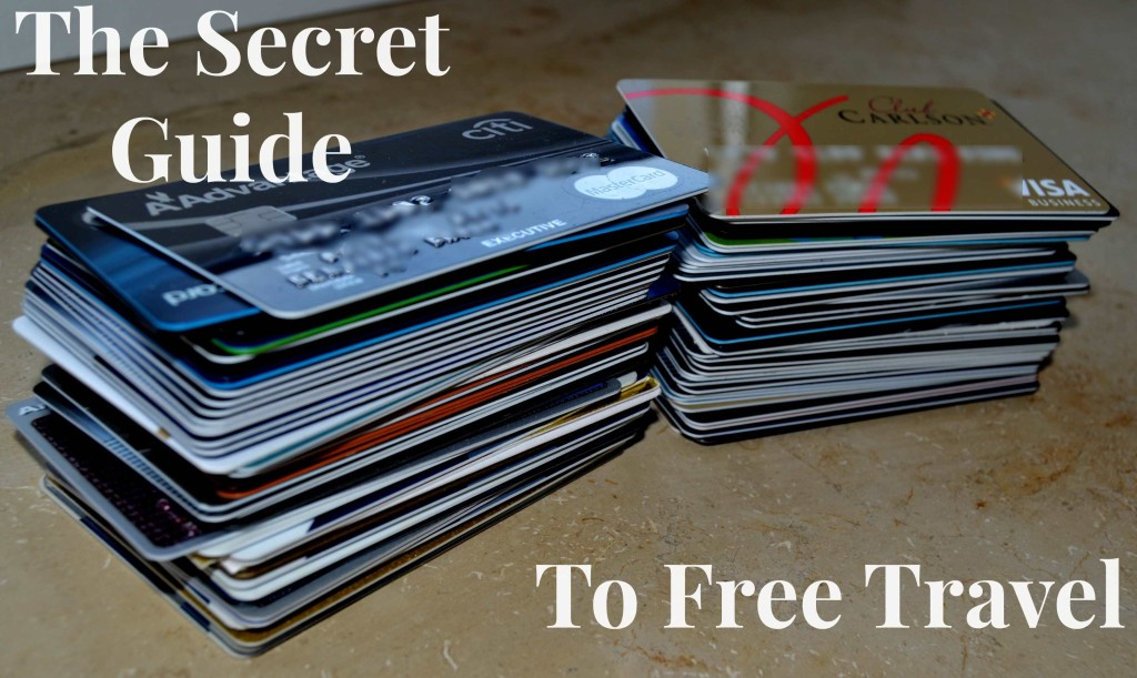 Travel for free with credit card points