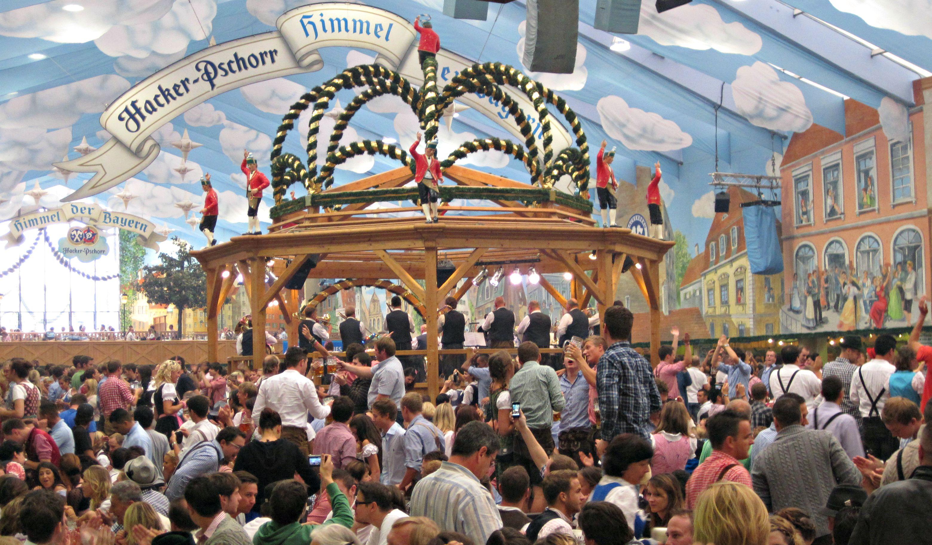 Hacker Pschorr Tent Oktoberfest & Hacker Pschorr Tent Oktoberfest - The Economical Excursionists