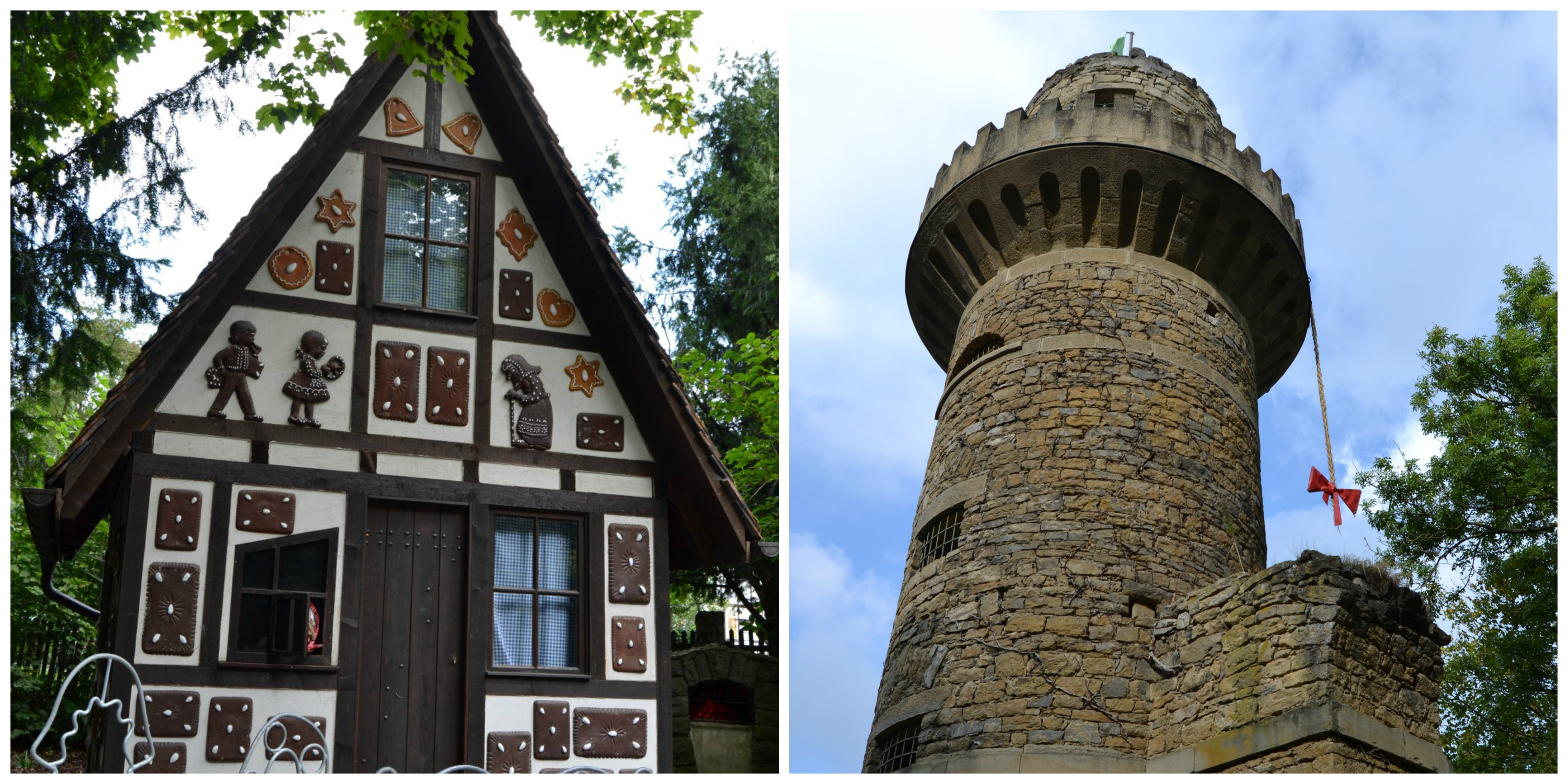 Hansel and gretel 39 s house and rapunzel 39 s castle the - Hansel home ...