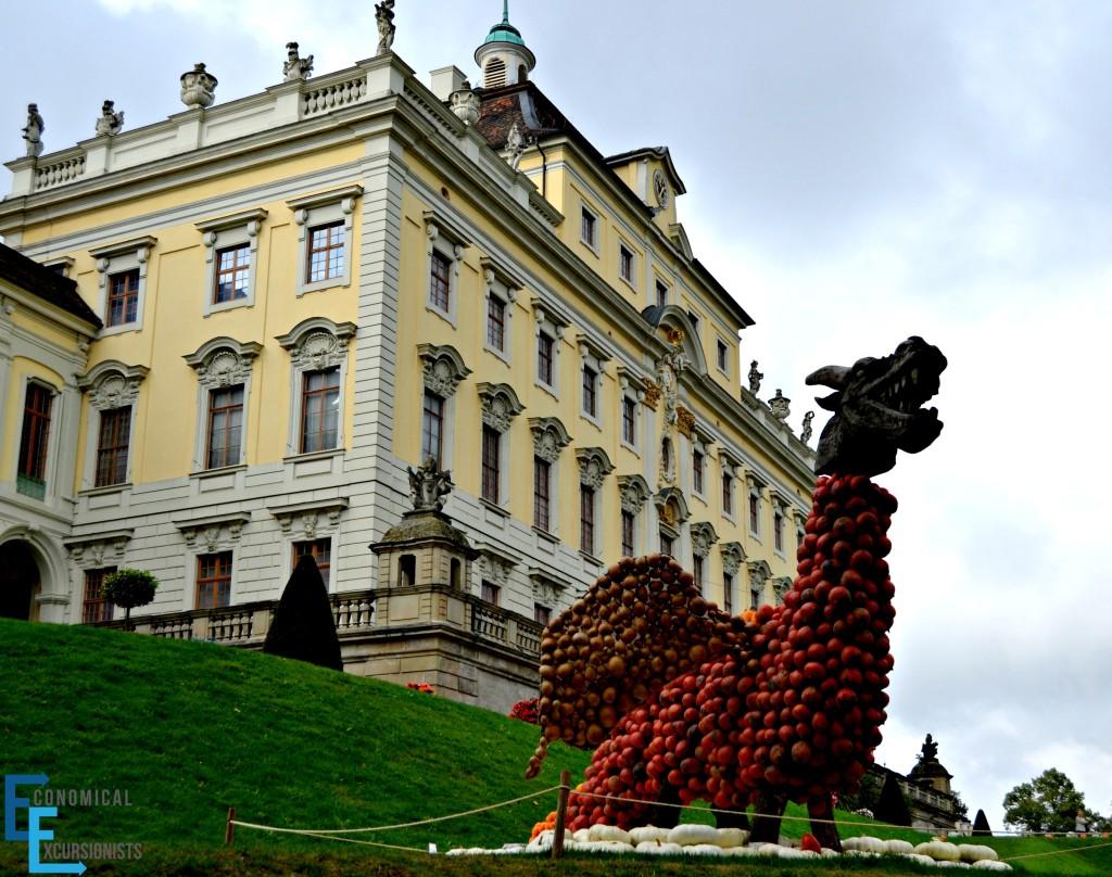 Ludwigsburg Pumpking Fest Dragon