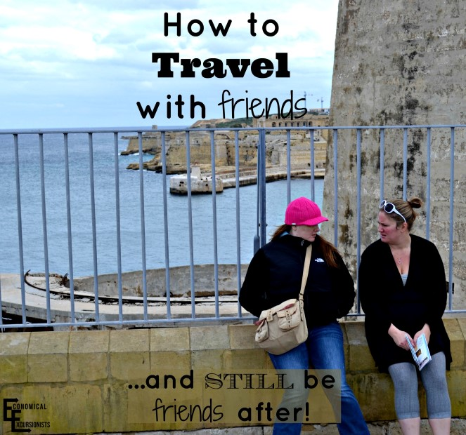 how to travel with friends (Custom)