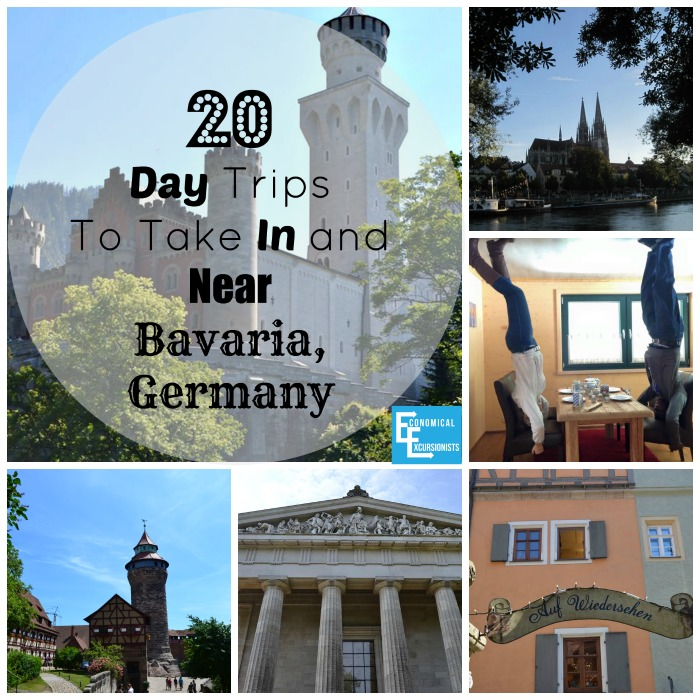 20 Day Trips to take in and near Bavaria, Germany