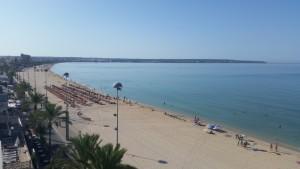 Hotel Playa overlooking the beach