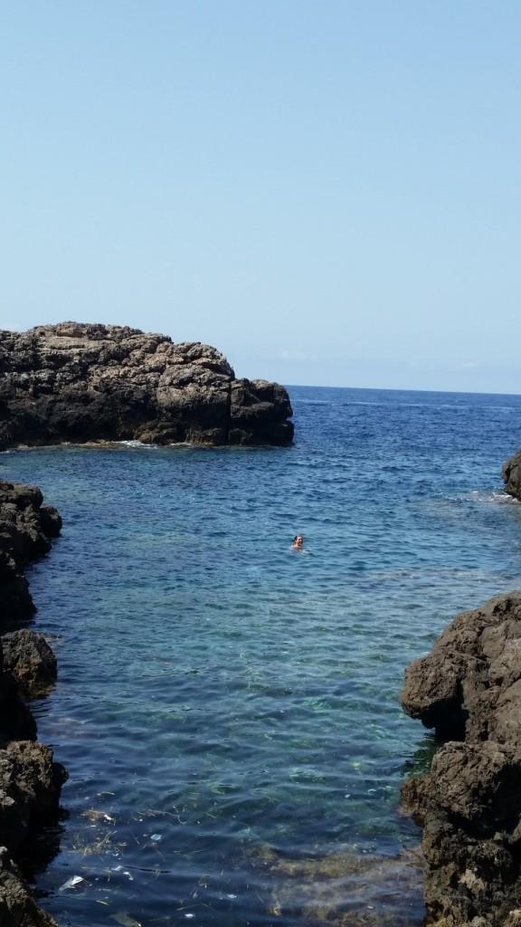 Private Cove in Soller Spain