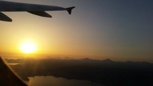 Flight over Mallorca, Spain