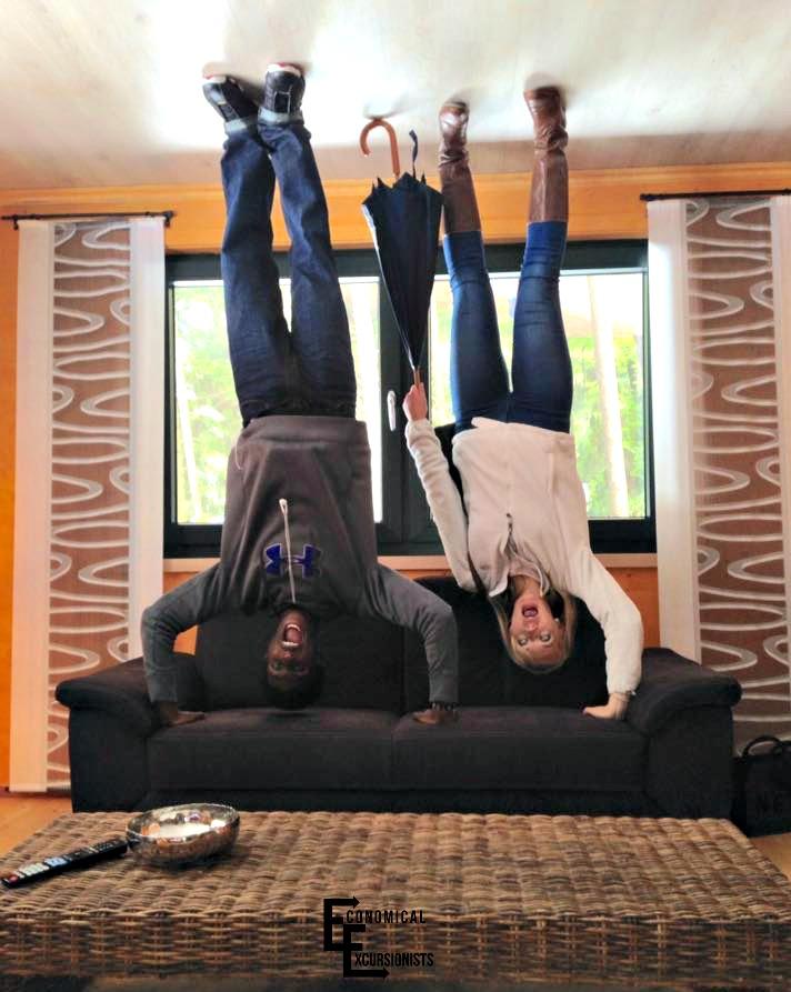 upside down house bavaria Germany