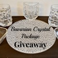 Economical Excursionists November Crystal Giveaway! Would love this for the holidays!
