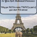 This book is AMAZING. Budget travel advice, tips and tricks for living abroad and more...all for military members!
