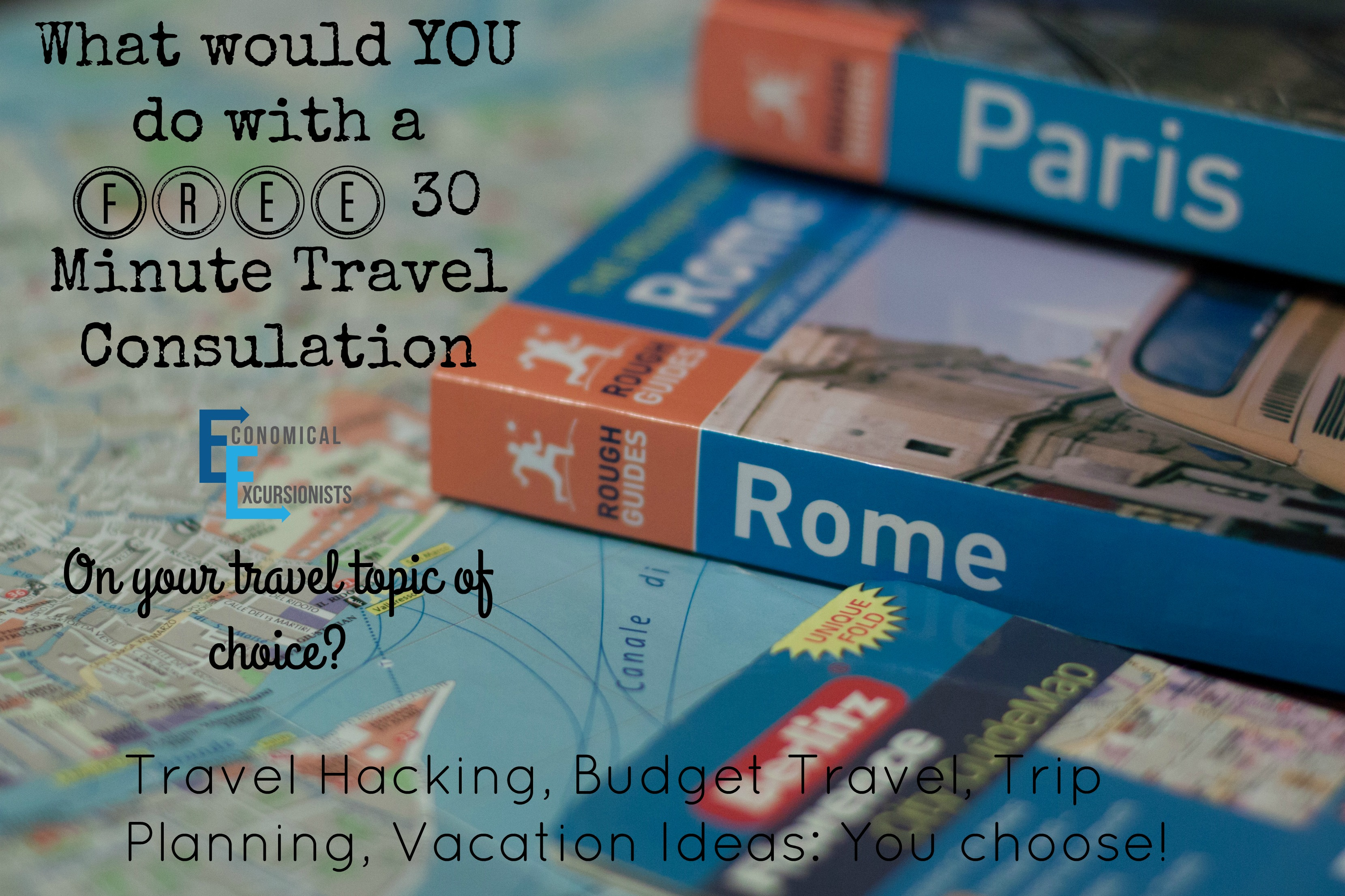 Free 30 Minute Travel Consultation? I'm In!