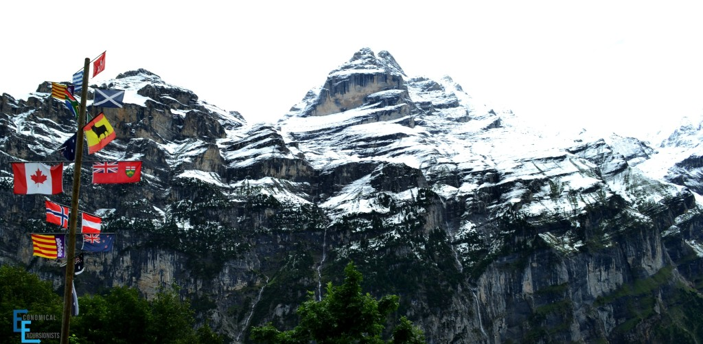 Gimmelwald Mountain Hostel view