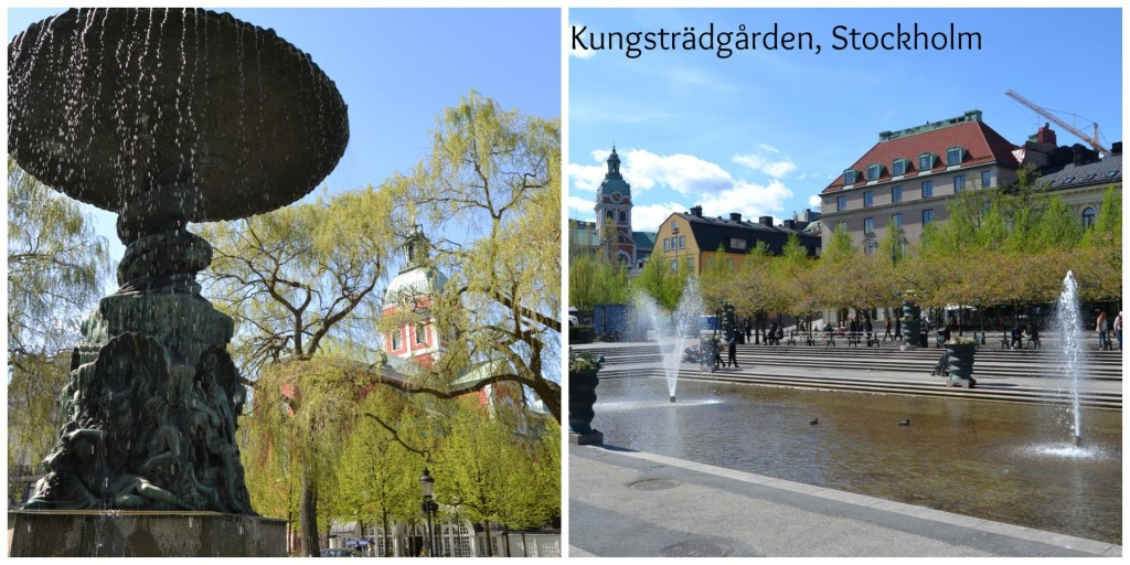 Kings Garden Stockholm .  Beautiful park to relax and see local life