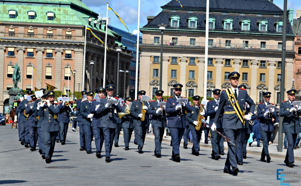 Stockholm Changing of the Guards Ceremony