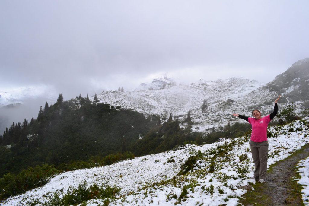 hiking near gimmelwald