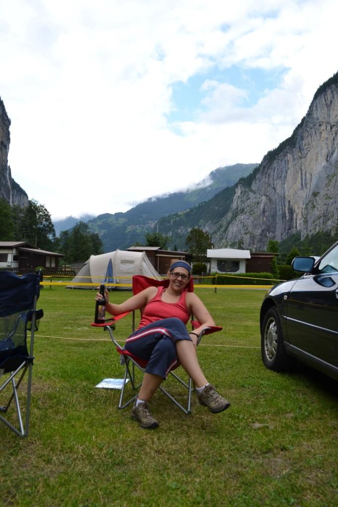 Camping in Lauterbrunnen