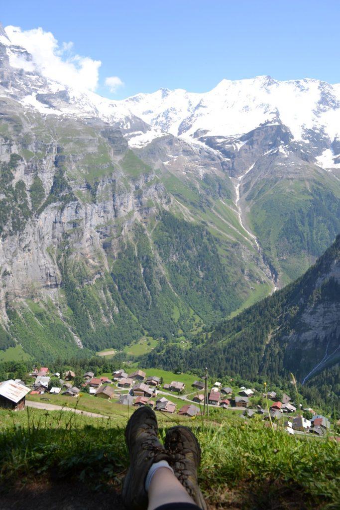 Overlooking Switzerland Gimmelwald