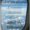 Airplane seating: what is the difference between economy class and business or first?