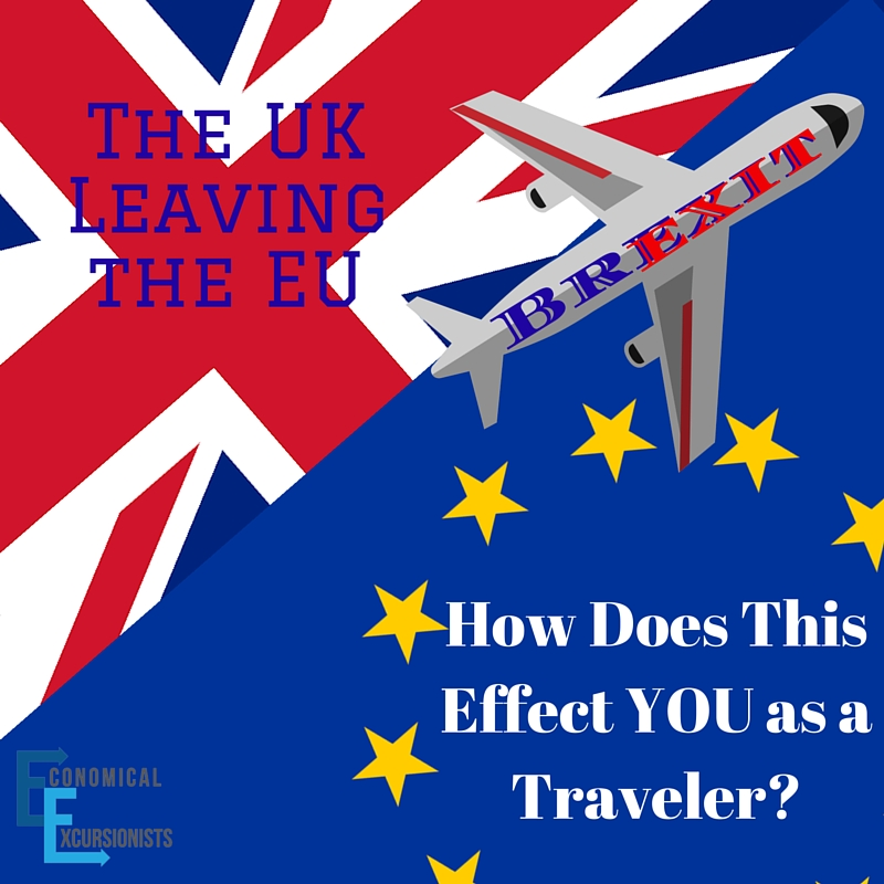 What does Brexit mean for travel? That NOW is the time to travel to Europe!