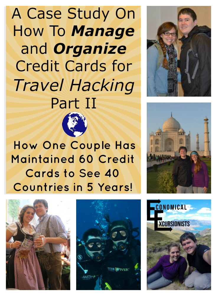 This couple has gone to the extreme of travel hacking...over 60 credit cards! But they show how it hasn't wrecked their scores, how they manage all of the travel hacking credit cards and how it's gotten them free travel around the world! WOW!