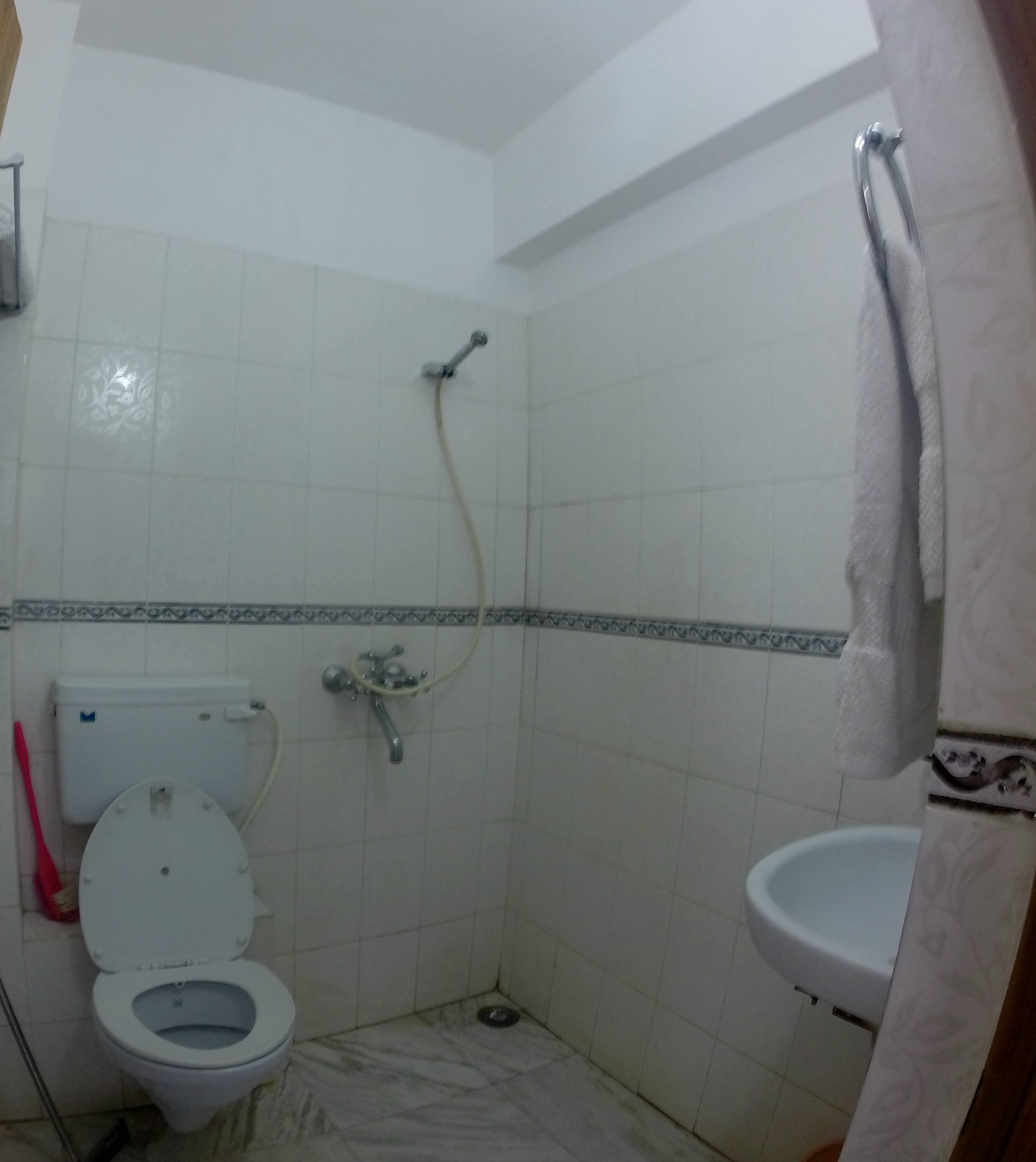 Budget Travel and Travel Hacking: What is a toilet shower you ask?? This. THIS is a toilet shower!