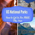 There is SO much beauty right here in the US! Who knew you could get into the national parks for free!?
