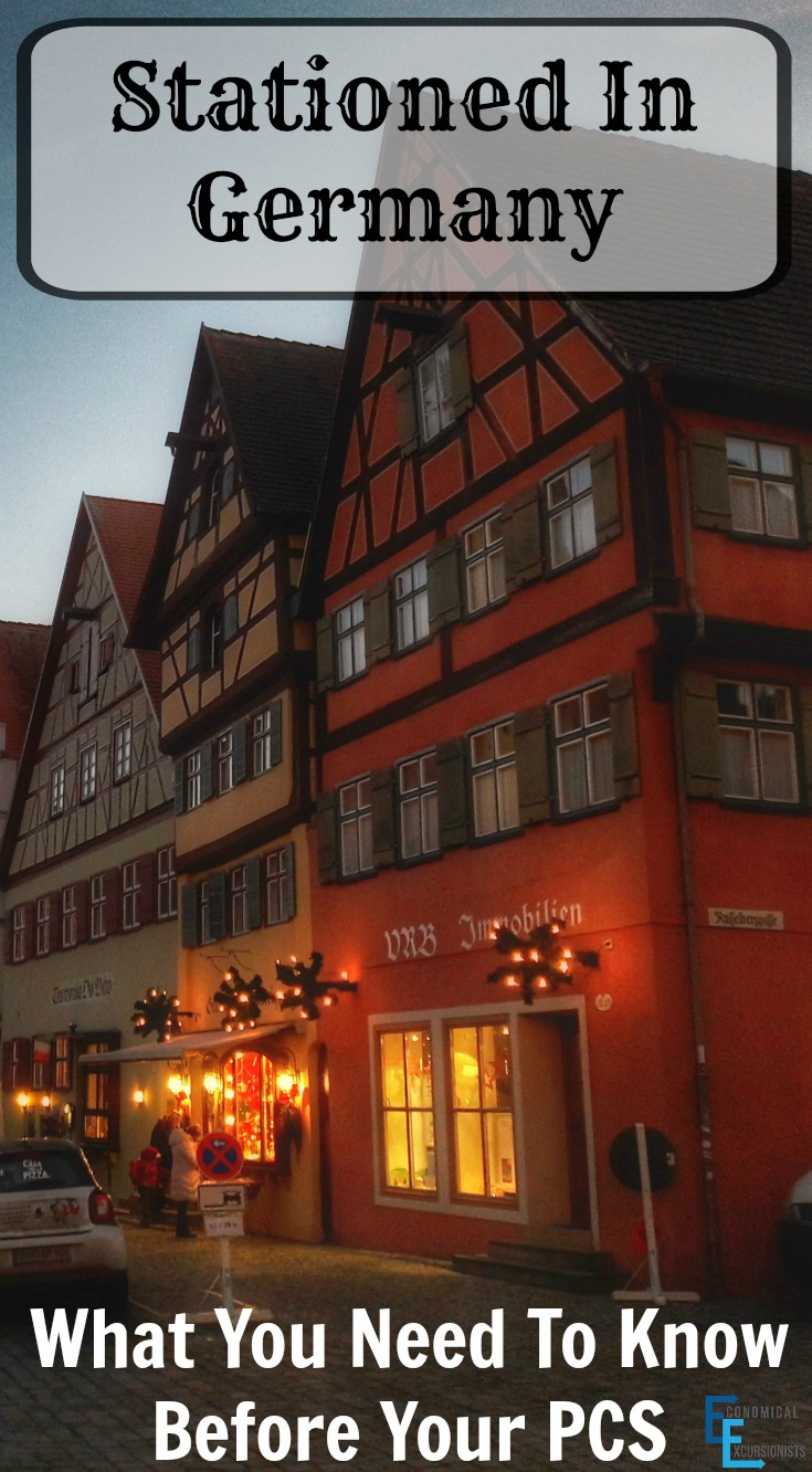 Stationed In Germany: What you need to know before your PCS