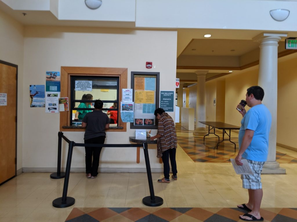 kauai camping permits locations