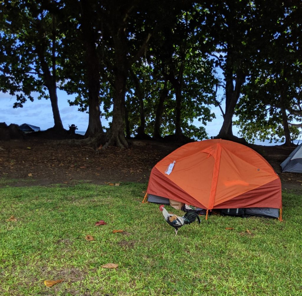 kauai camping gear