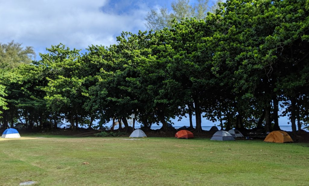 county of kauai camping