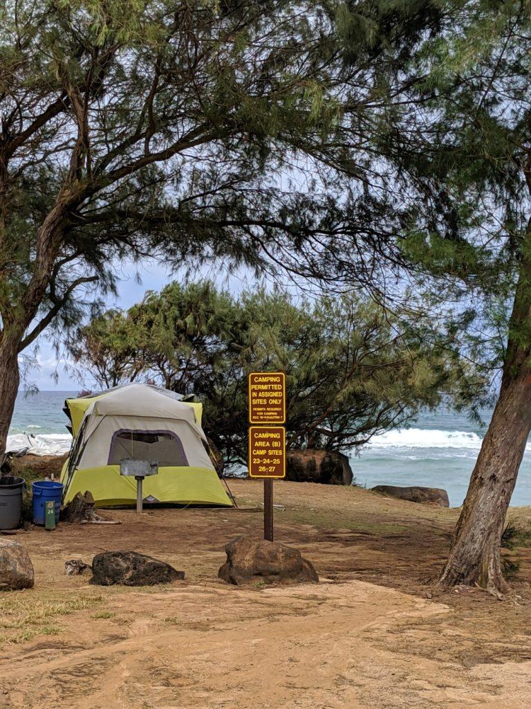 Lydgate Camping Kauai