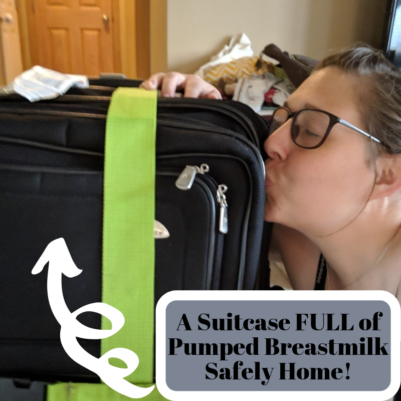 Checked Luggage With Breastmilk travel