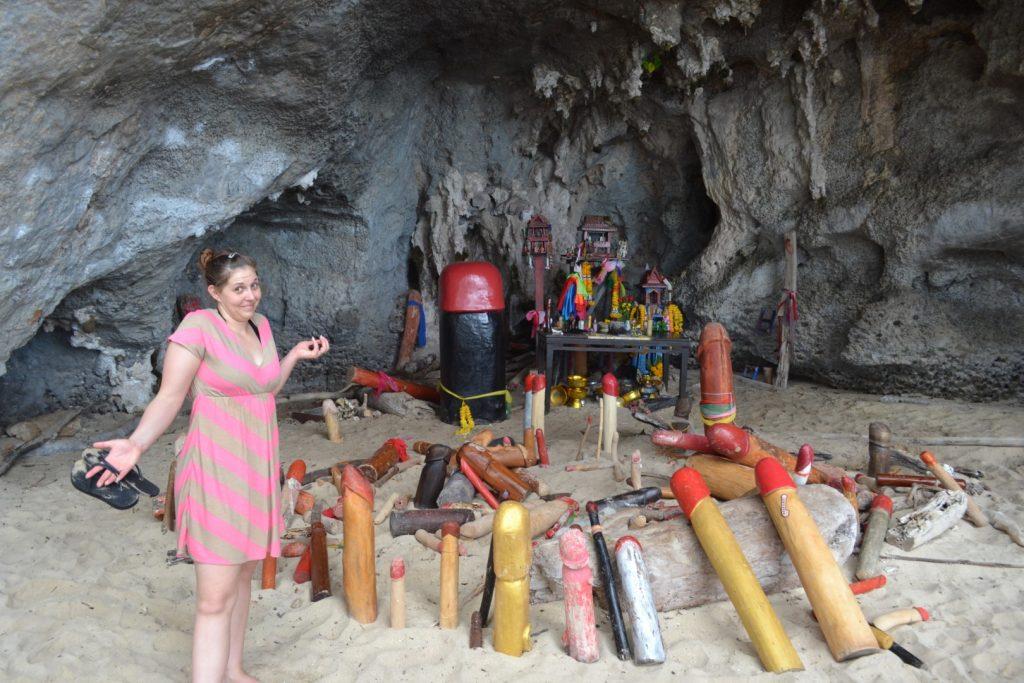 Phra Nang Pricess Penis Cave Krabi