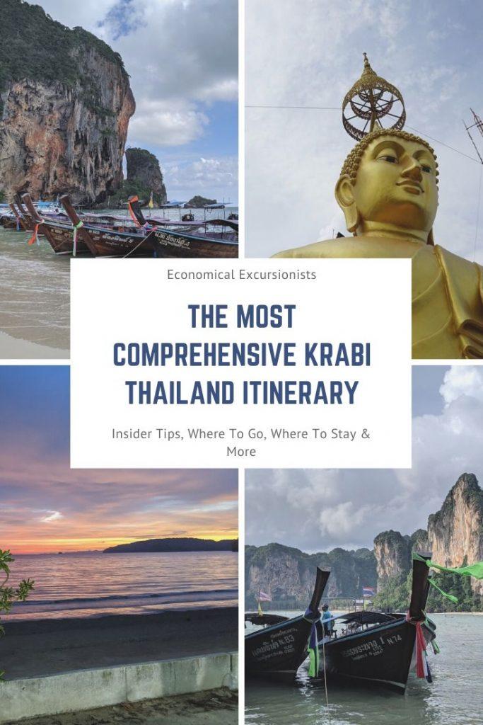 Krabi Itinerary 3 Days