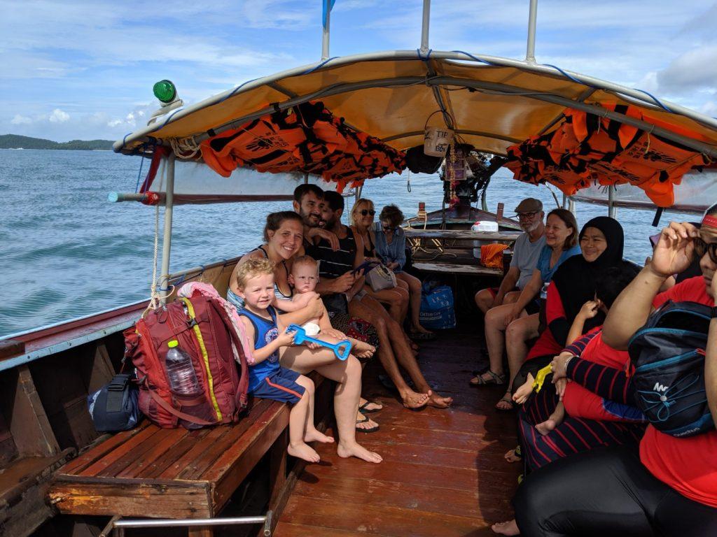 Krabi to Railay Longtail boat