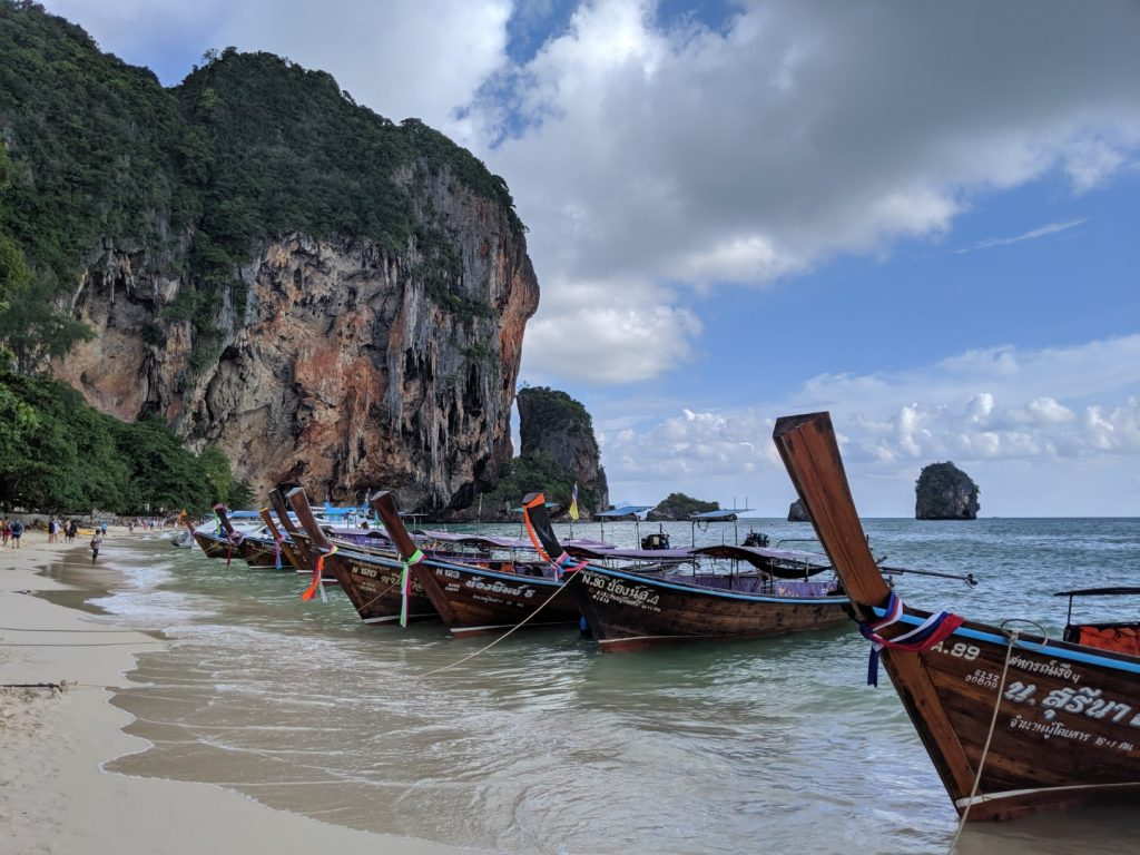best beaches in krabi Phra Nang