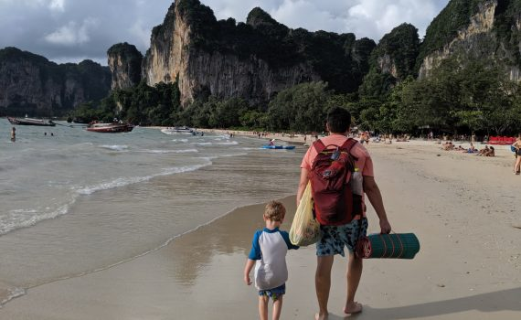 Railay Beach with kids