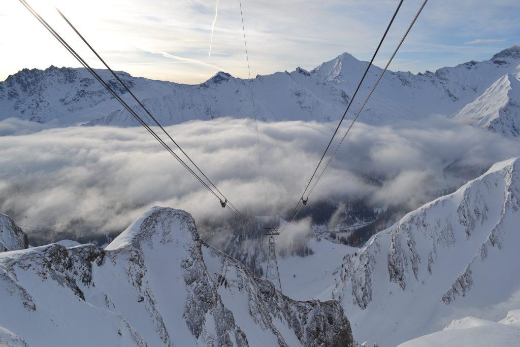 skiing in switerland