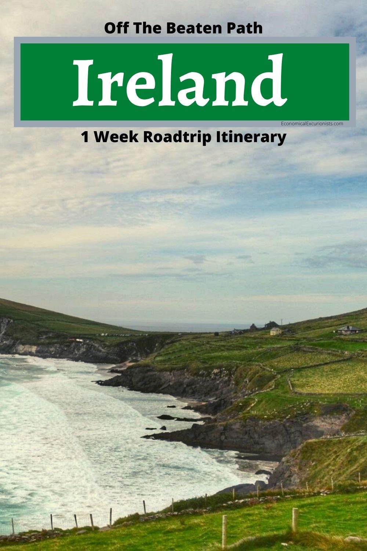 The perfect Ireland itinerary 7 Days Driving around Ireland itinerary