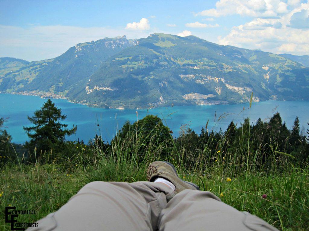 Lake thun to lauterbrunnen