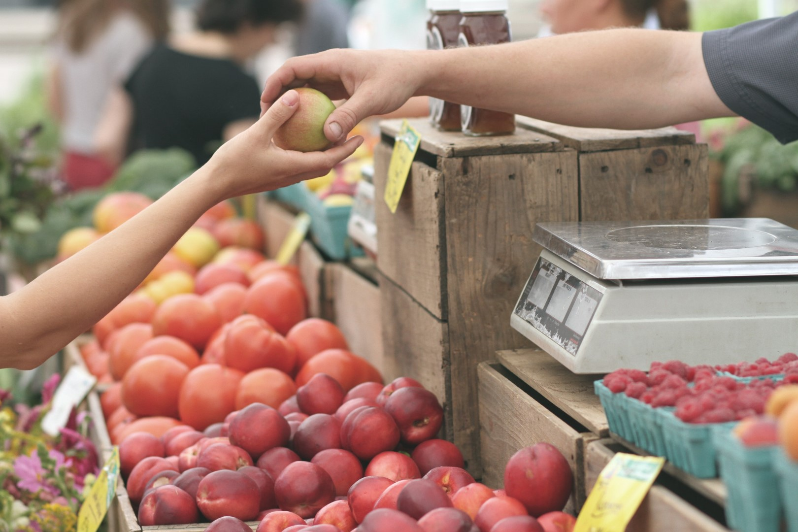 budget travel europe: go grocery shopping instead of eating out